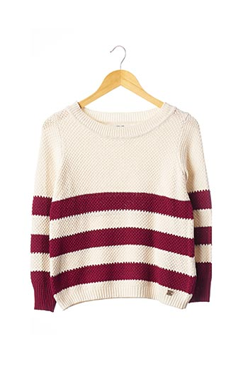 Pull col rond rouge LIU JO pour femme