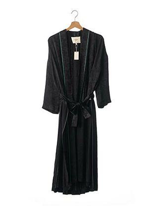 Robe de chambre noir MAJE pour femme