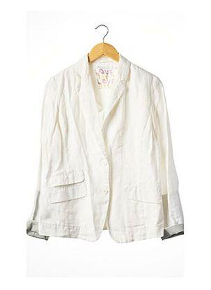 Veste casual blanc BERENICE pour femme