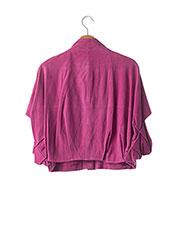 Poncho rose BY MALENE BIRGER pour femme seconde vue