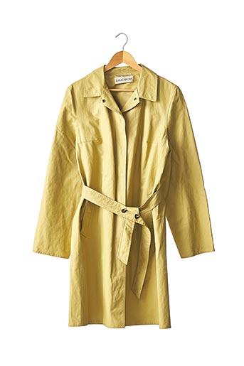 Imperméable/Trench jaune RAMOSPORT pour femme