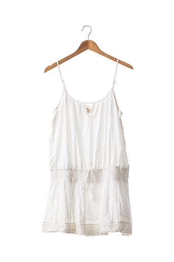 Robe courte blanc RALPH LAUREN pour femme