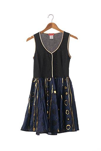 Robe courte bleu CHACOK pour femme