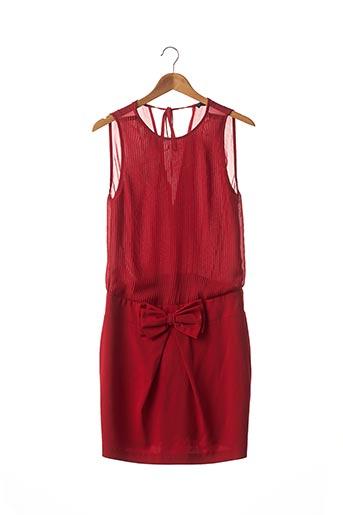 Robe mi-longue rouge TWIN SET pour femme