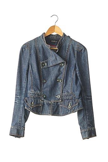Veste en jean bleu ISABEL MARANT pour femme