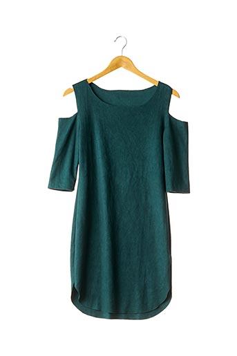 Robe courte vert SANS MARQUE pour femme