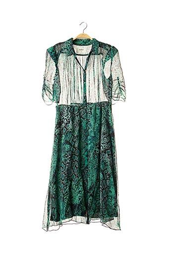 Robe longue vert BA&SH pour femme