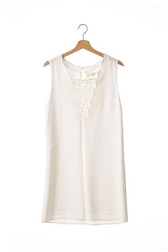 Robe mi-longue blanc ATHÉ pour femme