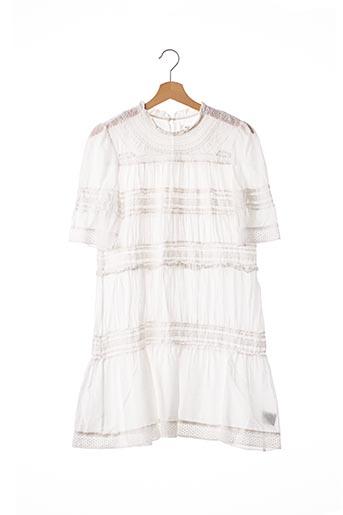Robe mi-longue blanc ISABEL MARANT pour femme