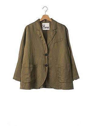 Veste chic / Blazer vert 8PM pour femme
