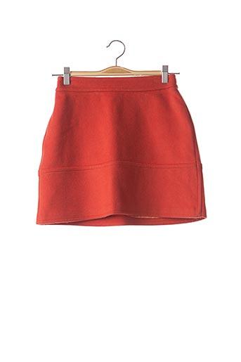 Jupe courte orange PAUL & JOE pour femme