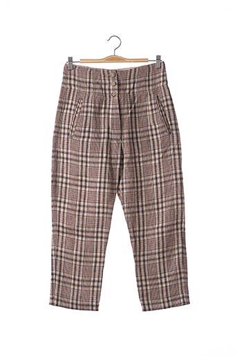 Pantalon 7/8 rouge ISABEL MARANT pour femme
