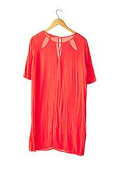 Robe mi-longue rouge BCBGMAXAZRIA pour femme seconde vue