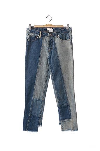 Jeans coupe slim bleu ZADIG & VOLTAIRE pour femme