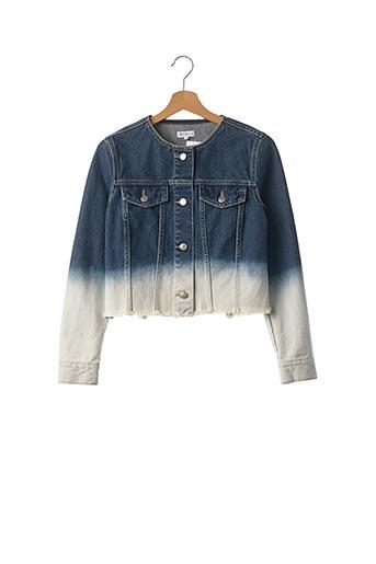 Veste en jean bleu CLAUDIE PIERLOT pour femme
