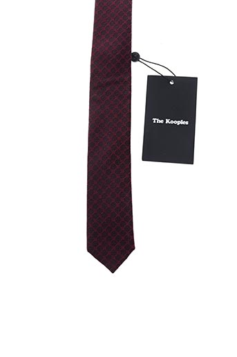 Cravate rouge THE KOOPLES pour homme
