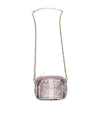 Pochette rose CLARIS VIROT pour femme