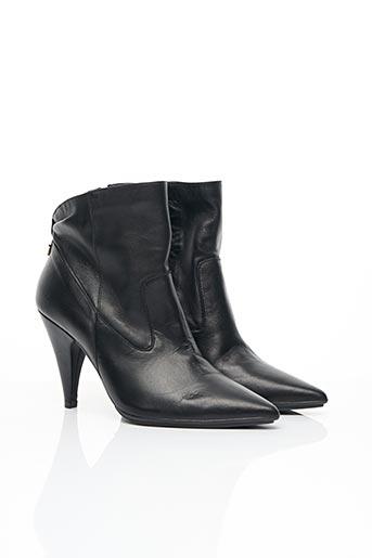 Bottines/Boots noir LODI pour femme