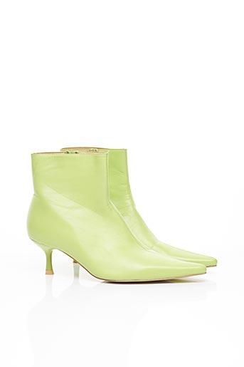 Bottines/Boots vert BLANCO pour femme