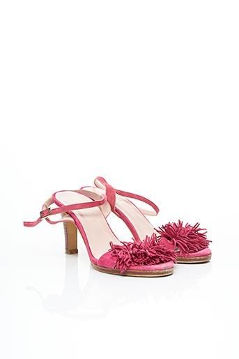 Sandales/Nu pieds rose LODI pour femme
