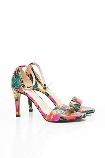 Sandales/Nu pieds vert LODI pour femme