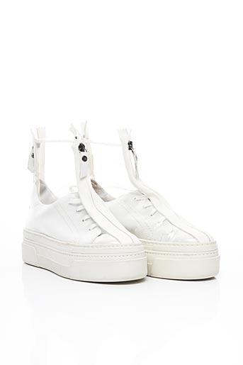 Bottines/Boots blanc ATTILIO GIUSTI LEOMBRUNI pour femme