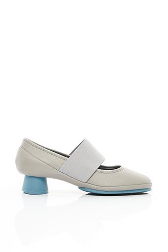 Chaussures de confort gris CAMPER pour femme