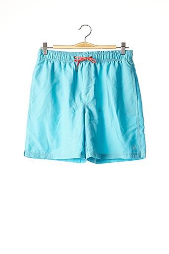 Short de bain bleu JULIPET pour homme