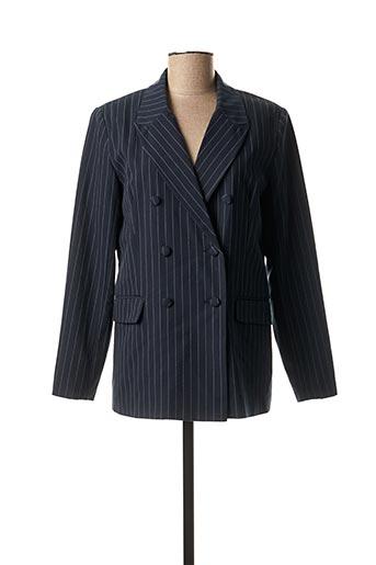 Veste chic / Blazer bleu B.YOUNG pour femme