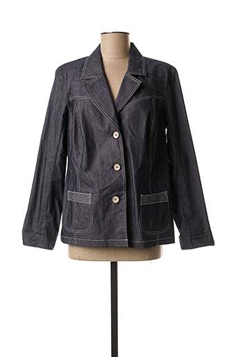 Veste chic / Blazer bleu TELMAIL pour femme