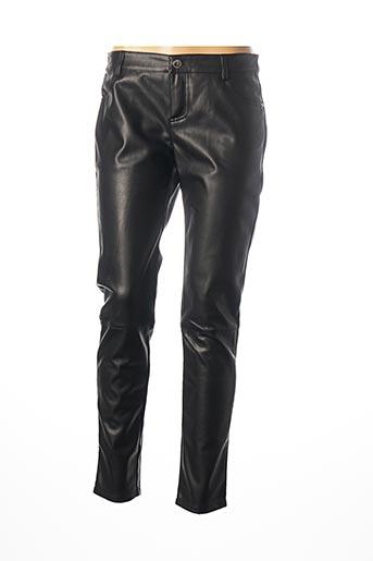 Jeans coupe slim noir MORGAN pour femme