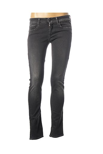 Jeans skinny gris REPLAY pour femme