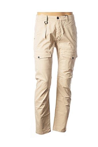 Pantalon casual beige KAPORAL pour homme