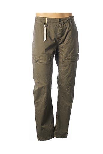 Pantalon casual vert KAPORAL pour homme