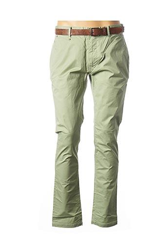Pantalon casual vert SALSA pour homme