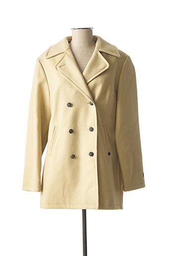 Manteau court beige DALMARD MARINE pour femme