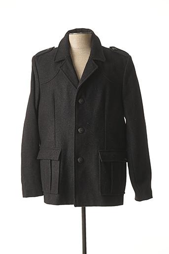Manteau court noir DALMARD MARINE pour homme