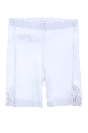 Legging blanc ABSORBA pour fille