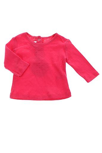 T-shirt manches longues rouge ABSORBA pour fille