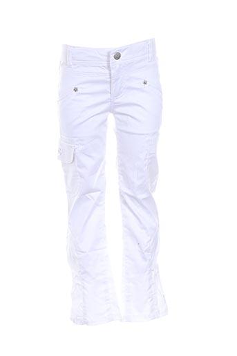 Pantalon casual blanc CONFETTI pour fille