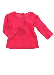 T-shirt manches longues rouge ABSORBA pour fille seconde vue