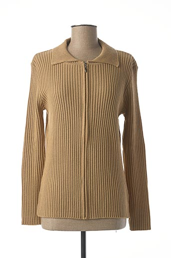 Veste casual beige FELINO pour femme