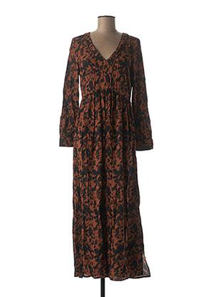 Robe longue marron VILA pour femme