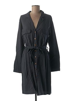 Robe mi-longue bleu GRACE & MILA pour femme