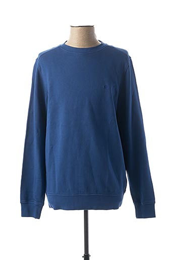 Sweat-shirt bleu FYNCH-HATTON pour homme