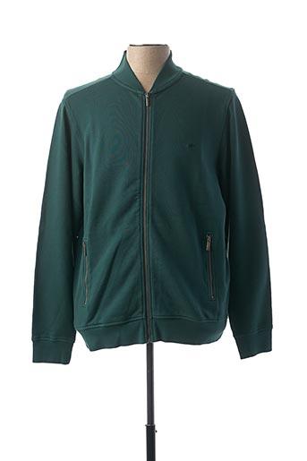 Veste casual vert FYNCH-HATTON pour homme