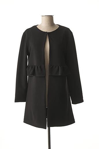Veste casual noir BLU ROYAL pour femme