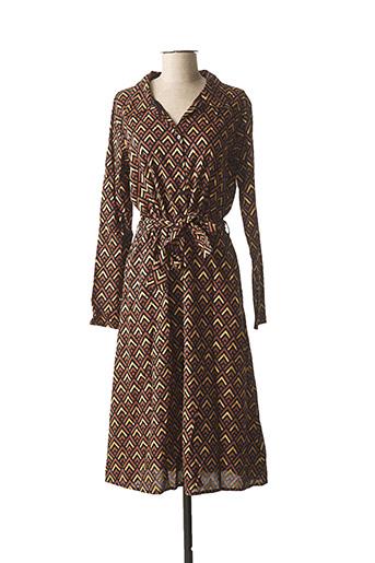 Robe longue marron BLEND SHE pour femme