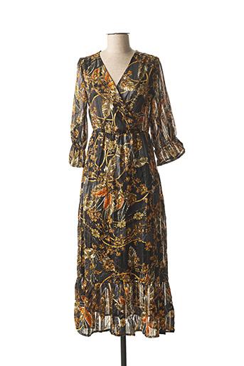 Robe longue noir B.YOUNG pour femme