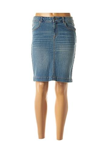 Jupe courte bleu B.YOUNG pour femme